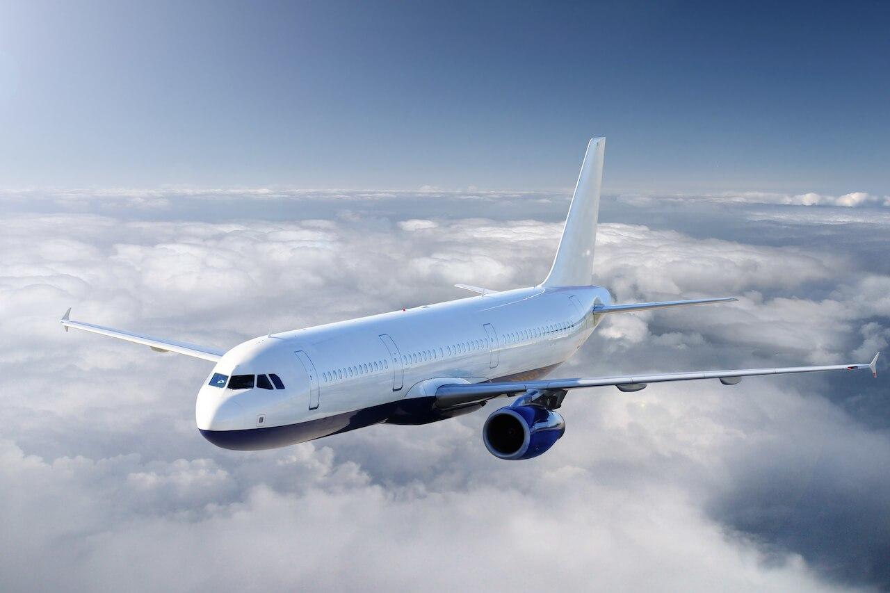 Turbulenzen Flugzeug